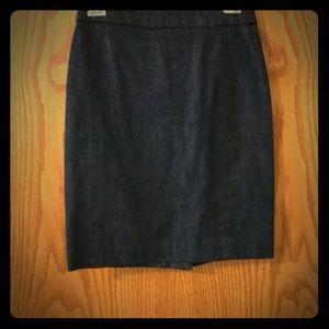 J.Crew denim pencil skirt P2